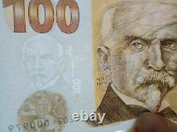 100 Korun Czech republic UNC 2019 COMMEMORATIVE BANKNOTE WITH ALOIS RAÍN, RARE