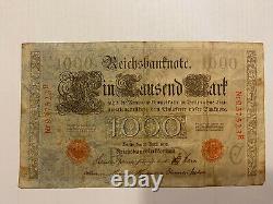 1000 mark Reichsbanknote 21. April 1910