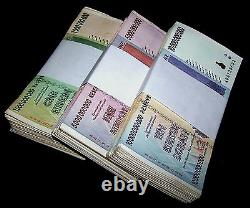 150 x Zimbabwe banknotes-50 x 1,5, &10 Billion Dollars-paper currency 1/2 bundles