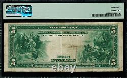 1915 $5 Federal Reserve Bank Note Kansas City FR-800 PMG 25 Very Fine
