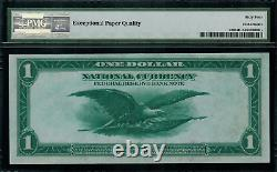 1918 $1 Federal Reserve Bank Note Cleveland FR-720 Graded PMG 64 EPQ