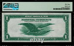 1918 $1 Federal Reserve Bank Note Philadelphia FR-717 Graded PMG 53 About Unc