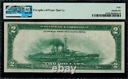 1918 $2 Federal Reserve Bank Note New York Battleship FR-751 PMG 40 EPQ