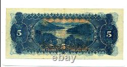 1927 Five Pound Note Riddle Heathershaw Good VF