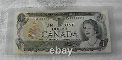1973 BANK OF CANADA $1 DOLLAR BANKNOTE BC-40b RADAR SOLID NUMBER EAU1111111 UNC