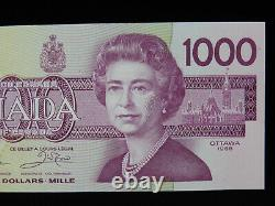 1988 $1000 Dollar Bank of Canada Banknote EKA0598348 Thiessen Crow UNC Grade