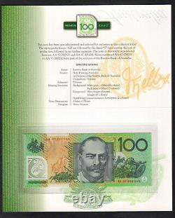 1997 Dated Annual Set $5,10,20,50,100. Premium Low numbered NPA Folder UNC
