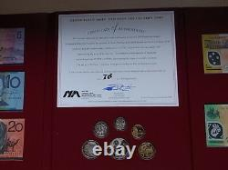 1998 NPA Note & Coin Collection Portfolio. 5 Notes with Matched ZZ 98 Serials