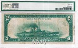 $2 1918 Cleveland Federal Reserve Bank Note (Battleship), FR#759, PMG 25