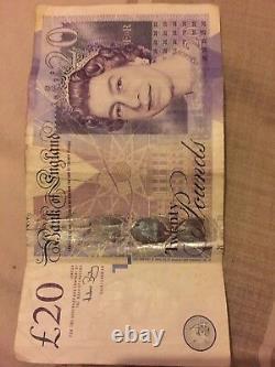 20 Pound Note AK47 RARE RARE RARE