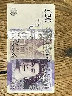 20 Pounds Old Note with Adam Smith yare of birth