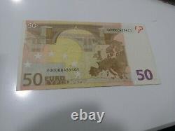 2002 Greece (y) 50 Euro Low S. N. Rare Banknote