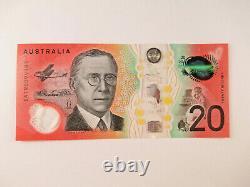 2019 Australian 20 Dollar $20 Note Prefix EA19 FRASER LOWE NICE UNCIRCULATED