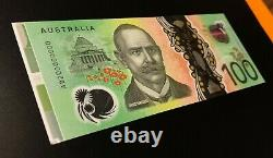 2020 SPECIMEN SERIAL $100 Note AD200000000 with Side Selvedge UNC