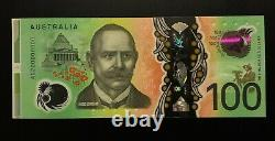 2020 SPECIMEN SERIAL $100 Note AG200000000 with Side Selvedge UNC