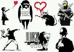 2x Original $1 Dollar Walled Off Hotel Bank Note un signed Free Banksy Dismaland