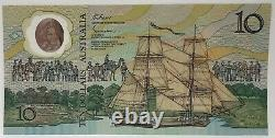 AUSTRALIA 1988. 10 DOLLARS BANKNOTE. LAST PREFIX. 2nd RELEASE 7777 SERIAL