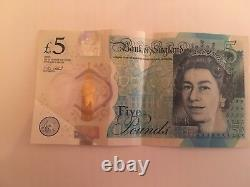 Ak46 44567 Extremely Valuable Collectibles Five Pound Note Rare