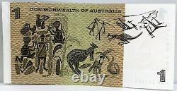 Australia 1968. One Dollar Banknote. Collector's Starnote. Consecutive Trio
