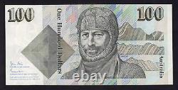 Australia R-608F. (1984) Johnston/Stone 100 Dollars. 1st Prefix ZAA. UNC