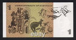 Australia R-71S. (1966) 1 Dollar Coombs/Wilson. STAR Note. Prefix ZAD. UNC