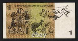 Australia R-72S. (1967) One Dollar. Coombs/Randall STAR Note. ZAG Prefix. F