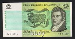 Australia R-81SF. (1966) $2 Coombs/Wilson. STAR Note. 1st Prefix ZFA. AU-UNC