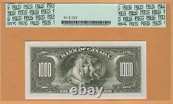 BANK OF CANADA $1000 Dollars ENGLISH PCGS-66 PPQ UNC 1935 BC-19/P-56 Banknotes
