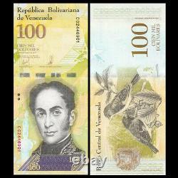 Brick, 1000 PCS, Venezuela 100000 100,000 Bolivares, P-New, Banknotes, UNC