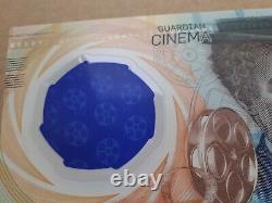 CINEMA Test HOUSE Note 2020 CHAPLIN CCL PWPW Polymer UNC Banknote SPECIMEN RRR