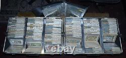 Dealer stock of historic, collectable, obsolete world paper money (banknotes)