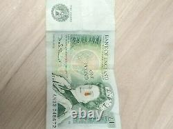 EXTREMELY RARE English £1 one pound note