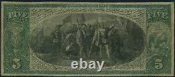 FR397b TRADER'S NAT'L BANK, CHICAGO $5 1863 CONTEMPORARY REPRINT NOTE VF WL8776