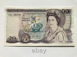 Fforde £20, A03 prefix, EF, SCARCE