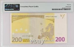 GEM UNC 200 T002 Euro Belgium European Union EU 2002 Draghi P-19z 66EPQ Prefix Z