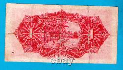 Government of Straits Settlements P9a 1 Dollar Sign L M Leau 1.9.1927 VF EX RARE