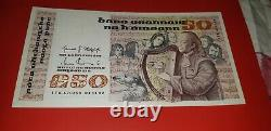 Ireland 1 Pound to 50 Pounds Banknotes Eire Rare Bank of Ireland Punt Note Set