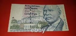 Ireland 5 Pound to 100 Pounds Banknotes Eire Rare Bank of Ireland Punt Note Set