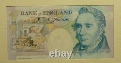 Kentfield First Runs £5 R01, £10 KN01, £20 E01 & £50 E01 Banknotes folder C106