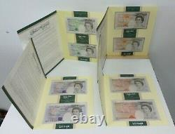 Kentfield Last + Lowther First Runs £5 £10 £20 £50 Banknote Pairs Packs C142-145