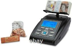 Money Counting Scale Note Coin Counter Machine Banknote Cash Currency UK ZZap