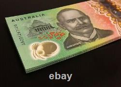 NEW 2020 Australia $100 Note AA 20 FIRST Prefix 100% PERFECT UNC