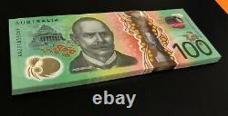 NEW 2020 Australia $100 Note AA 20 FIRST Prefix PERFECT UNC