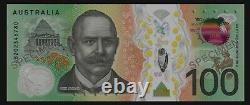 Next Gen. RBA $100 Dollar UNC Polymer Bank Note + Commemorative Folder 2020