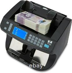 Note Counter Machine Money Currency Banknote Cash Counting Fake Detector ZZap