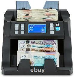 Note Counter Machine Money Currency Banknote Cash Counting Fake Value Mixed ZZap