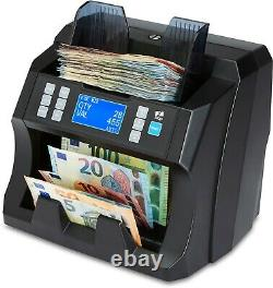 Note Counter Machine Money Currency Banknote Value Counting Detector Cash ZZap
