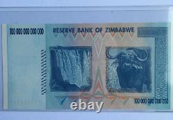 One Hundred Trillion Dollars Zimbabwe 2008, UNC