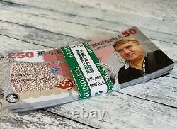 One Million Dollars Personalised Fake Novelty Bank Notes Play Monopoly Money