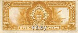 Philippines 20 Pesos Series of 1936 P 85 Circulated Banknote